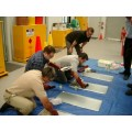 Oil spill response training on land and coastal waters