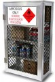 Aerosol can safety storage cage - 288 can capacity